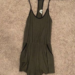 Urban outfitters romper with pockets